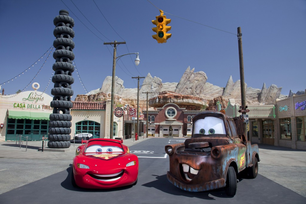 CarsLand at Disneyland