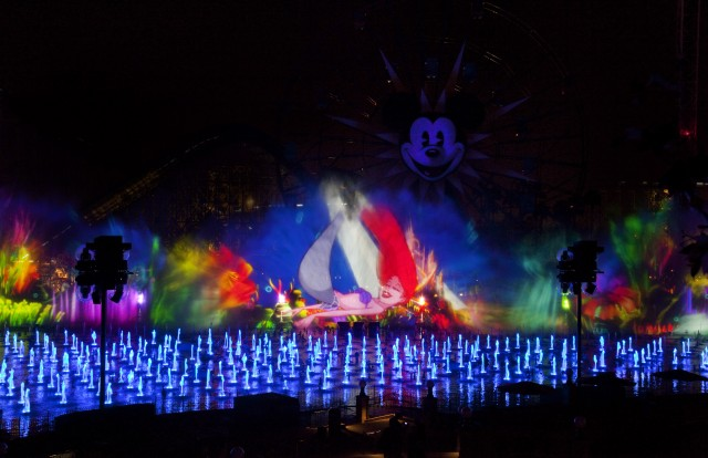 World of Color Photo Courtesy of Disneyland Parks and Resorts
