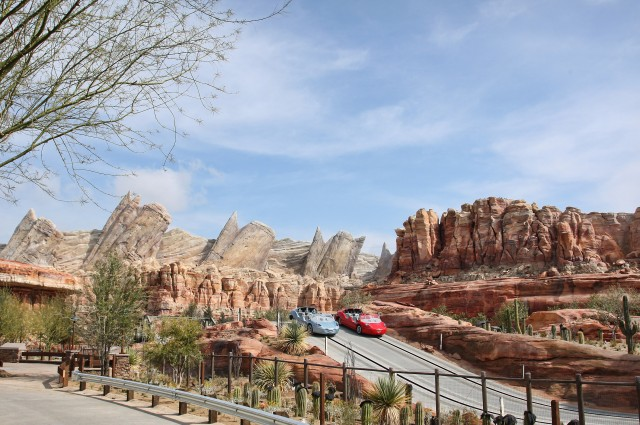 Radiator Springs Racers at Carsland at Disneyland