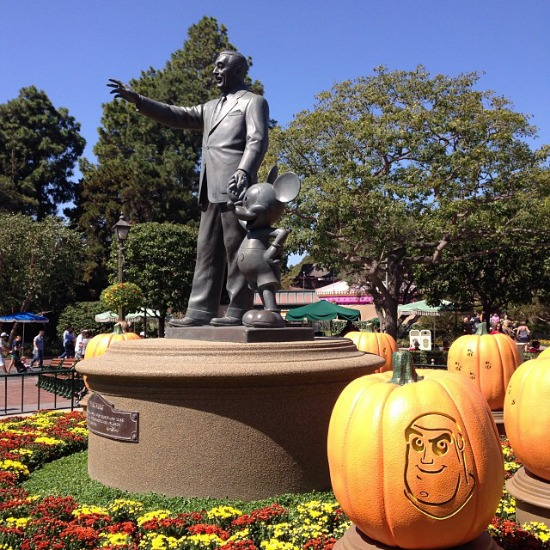 Walt Disney and Mickey Mouse Halloween