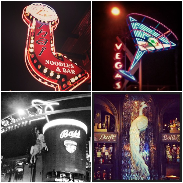 #DTLV collage bars in downtown las vegas