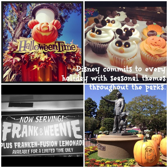 Halloweentime at Disneyland