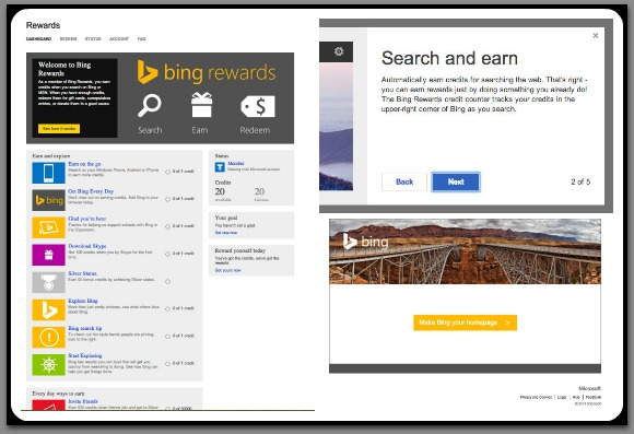 Bing.com Earn Rewards
