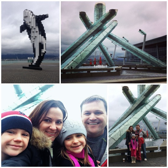 Olympic Torch Vancouver Winter 2012