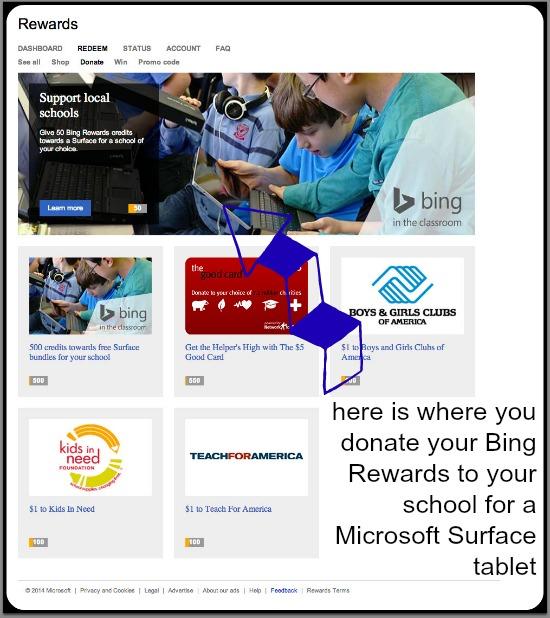 Bing Redeem
