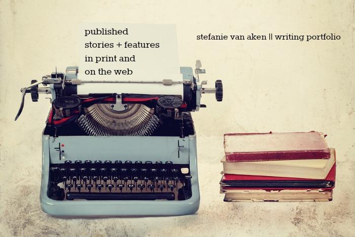 stefanie van aken writing portfolio