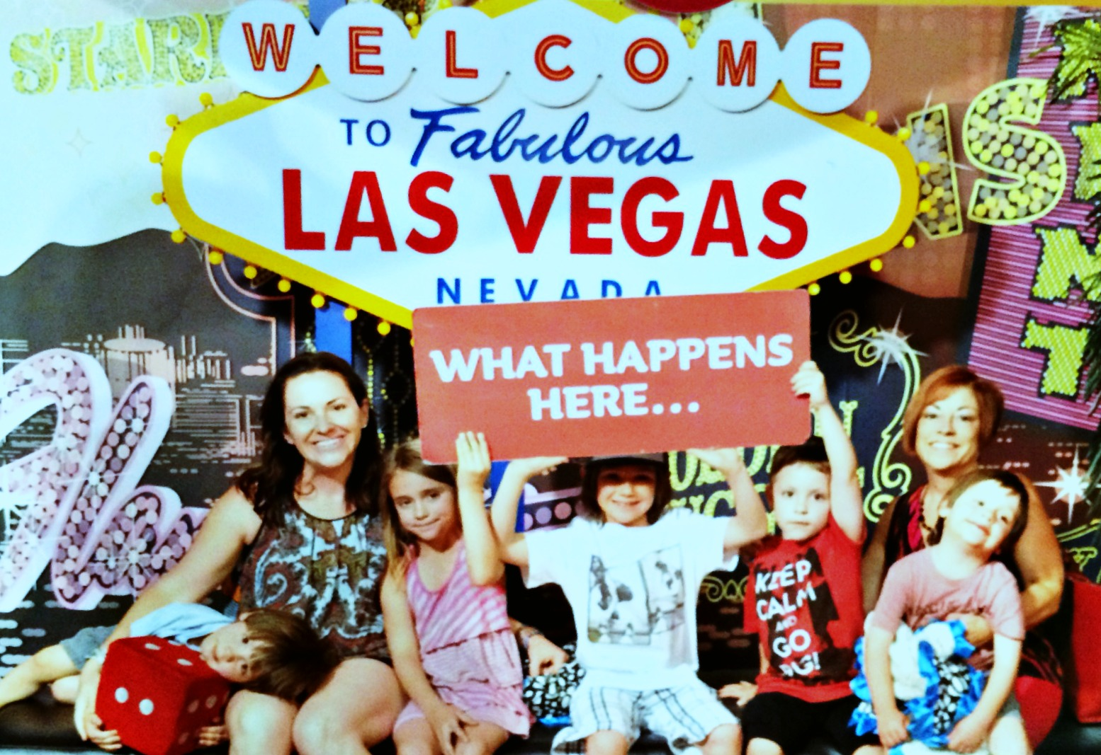 top family attractions in las vegas