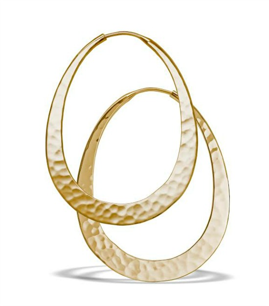toby pomeroy oval gold hoops