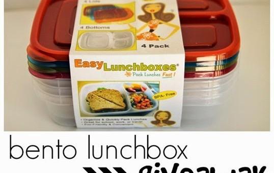 Back to School: Bento Lunchbox GiveAway