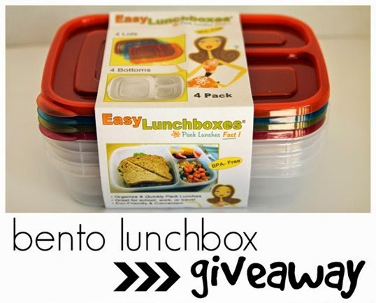 Back to School: Bento Lunchbox GiveAway