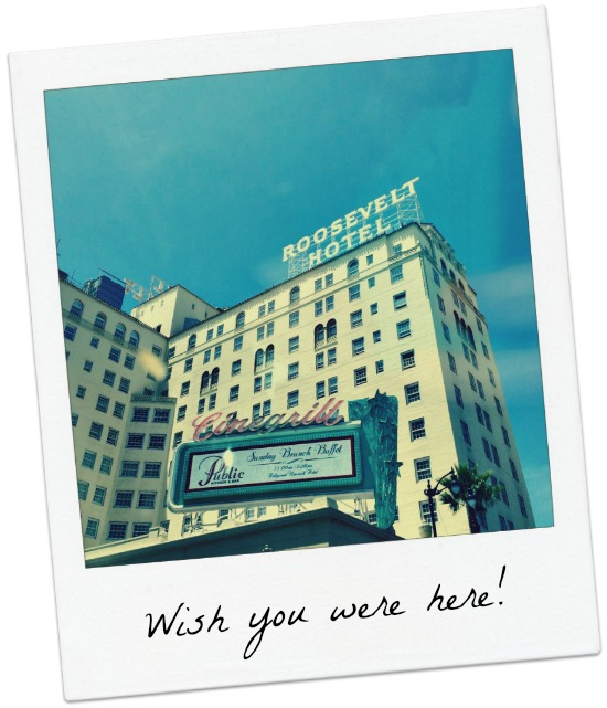 roosevelt hotel wish you were here