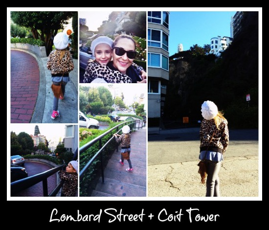 Lombard Street and Coit Tower
