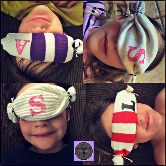 DIY Savasana Eye Masks RockStar Yogis