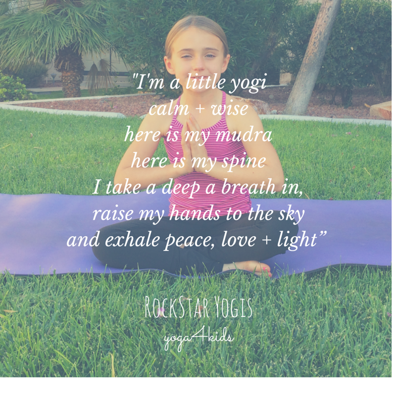 I'm a little yogi rockstar yogis sing songs