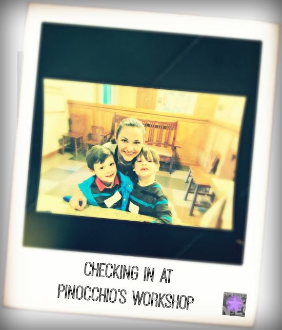 Pinocchios Workshop Grand Californian