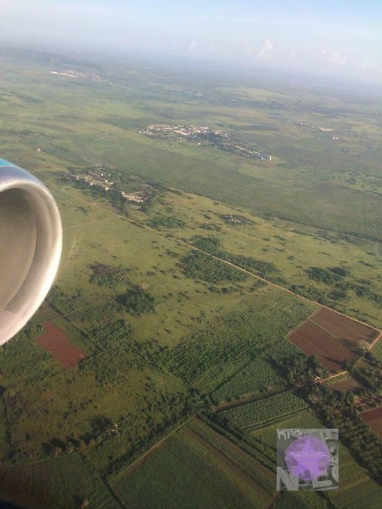 cuba scene from plane