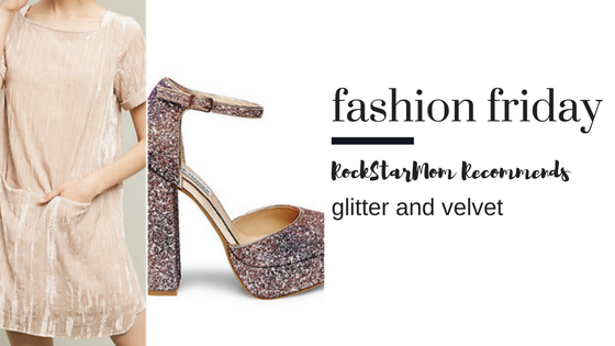 Velvet and Glitter Fall Trends