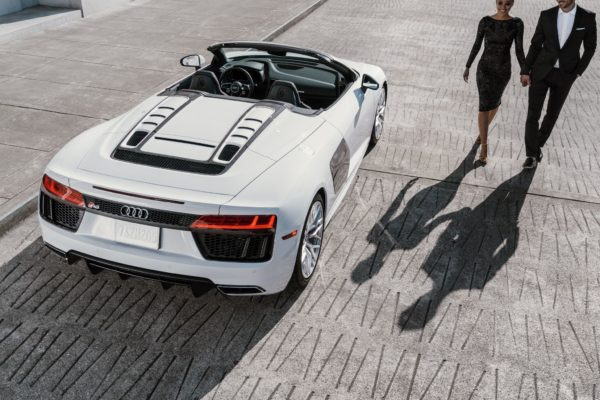 Audi R8 | Photo provided by PNK BMC for Audi