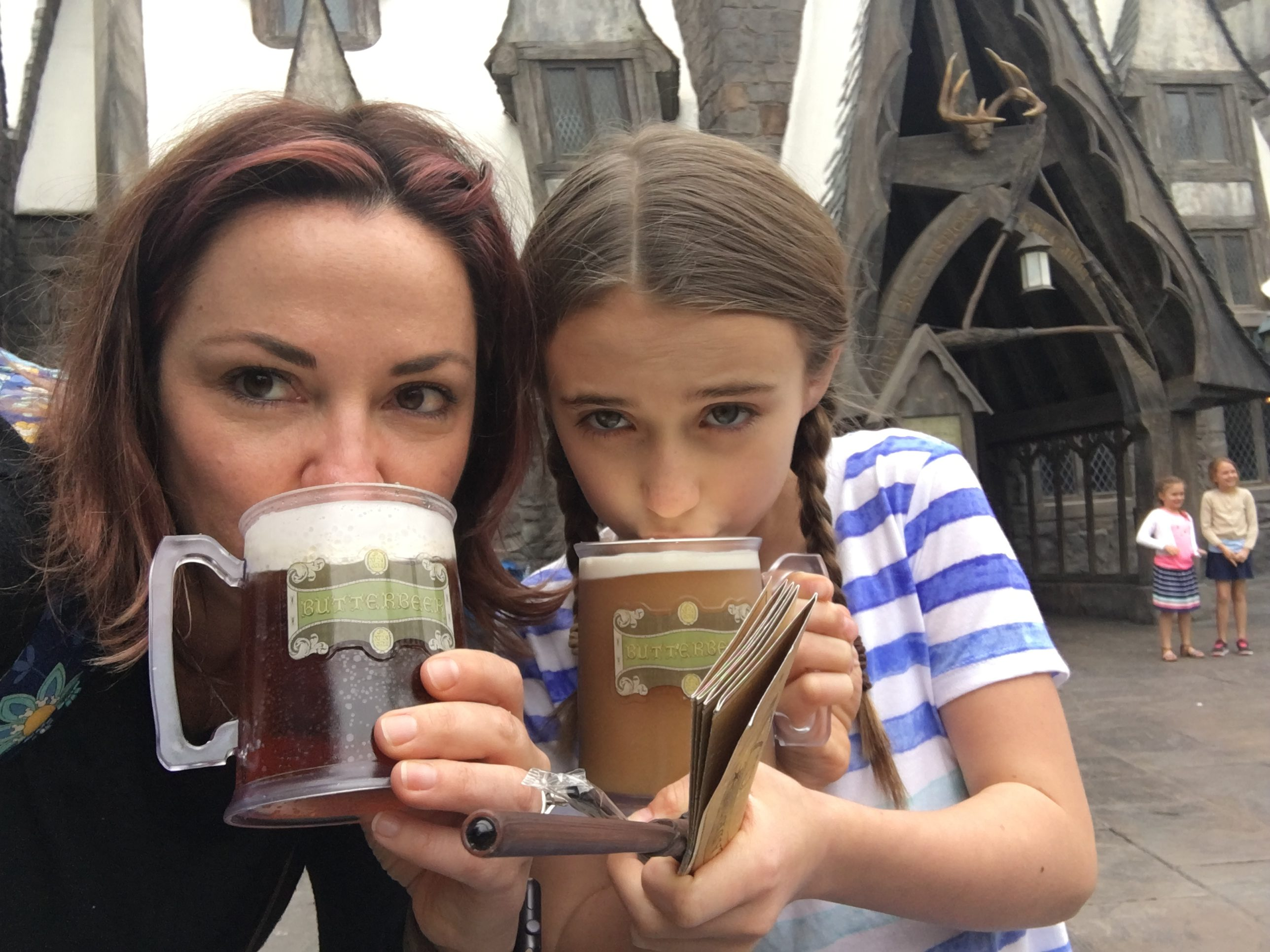 Universal Studios Hollywood Butter Beer