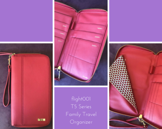 flight001 t5 series family travel organizer