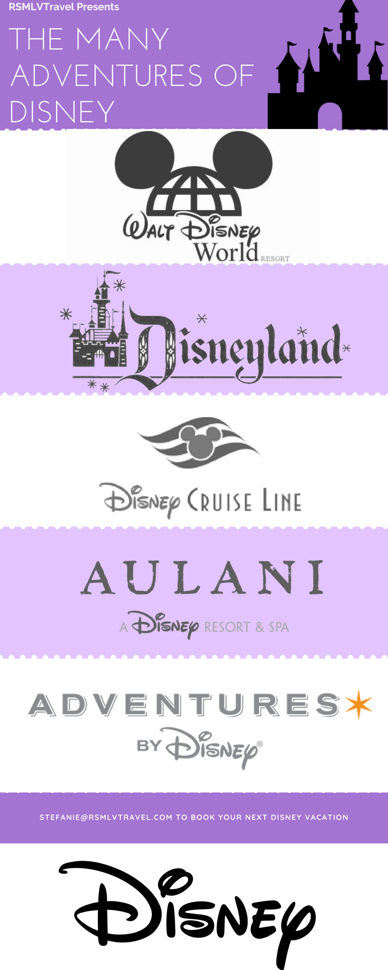 Disney Resorts Theme Parks Cruises Aulani and Adventures by Disney