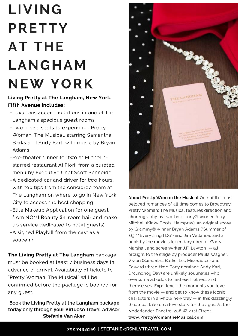 Langham New York Living Pretty Package